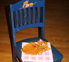 Recycled Chair Art