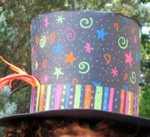 Mini paper top hat templates. Members free to print + make for ...   200x220