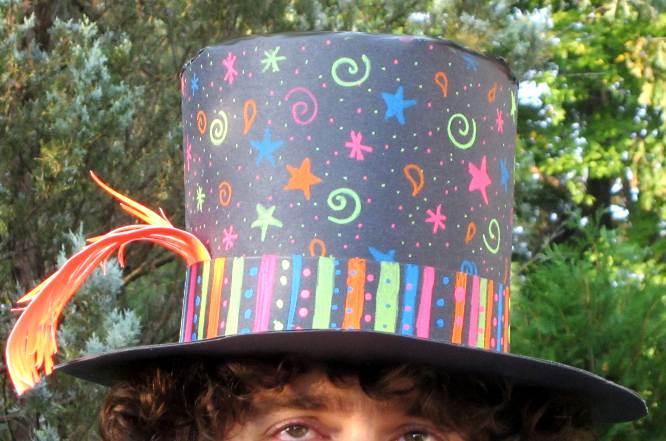 Paper Top Hats